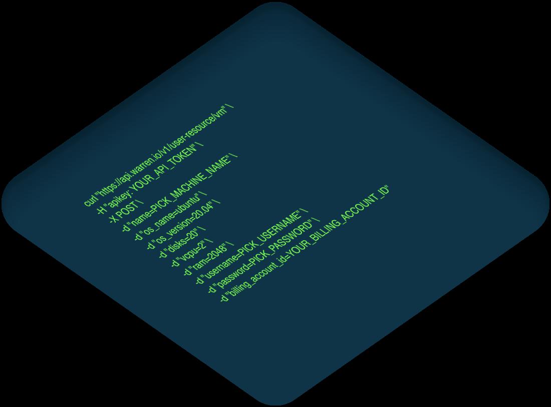 Technical stack code - warren.io